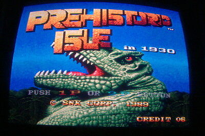 Prehistoric Isle In 1930 - Snk / Boot-Leg / Working / Arcade Jamma Pcb  **  589