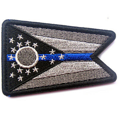 USA Ohio FLAG OH STATE FLAG U.S. ARMY MORALE BADGE TACTICAL HOOK LOOP PATCH #3