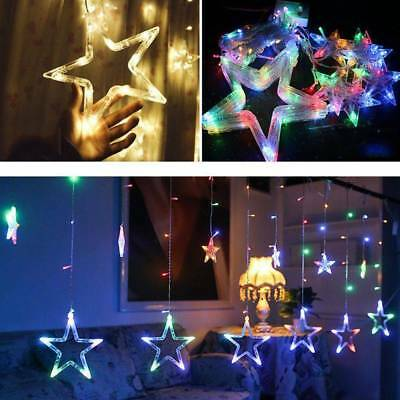 LED 5 Warm Colors 12 Twinkling Stars Christmas Party Fairy String Light Decor
