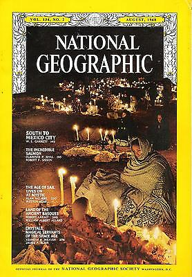 National Géographic(EN) VOL.134 NO.2 August 1968, South To Mexico City,...