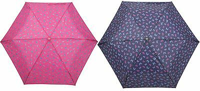 Drizzles Ladies Supermini Butterfly Ball Handle Umbrella