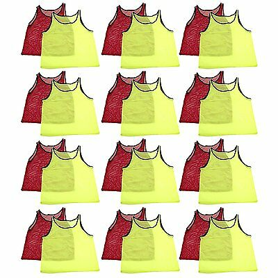 Training Youth Practice Pinnies Jerseys Sports Scrimmage Football Soccer