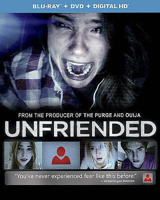 Unfriended (Blu-ray Disc ONLY, 2015)