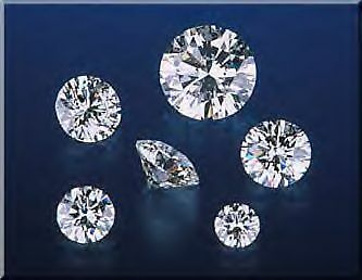 5 diamants - 2.00mm - VVS2/E - SUPERBES !!!