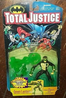 Brand New Total Justice: GREEN LANTERN with Ring Energy Disk Launcher!