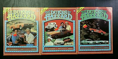 Vintage Dukes of Hazzard Coloring Book Lot 1981 General Lee Daisy Unused