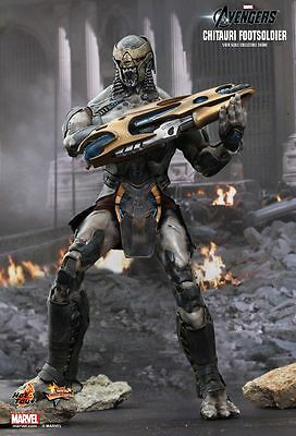 THE AVENGERS - Chitauri Footsoldier 1/6th Scale Action Figure Set (Hot Toys)