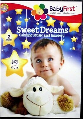 BabyFirst Sweet Dreams Calming Music and Imagery Soothing Sights NEW DVD