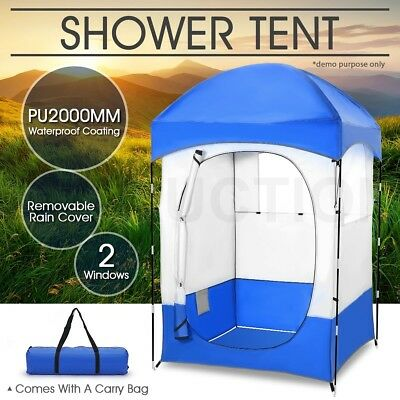 Portable XL Waterproof Change Room Shelter Outdoor Camping Shower Toilet Tent
