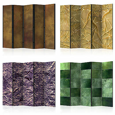 DECORATIVE PHOTO FOLDING SCREEN WALL ROOM DIVIDER ABSTRACT f-A-0386-z-b