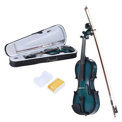 3/4 Size Basswood Violin Maple Fingerboard with Rosin Bow Violin Case Free N2Y6