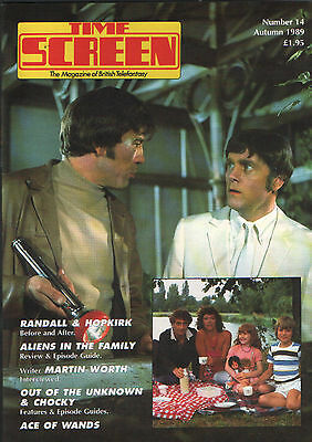 Time Screen #14 - Randall & Hopkirk Aliens In Family Out of Unknown Ace of Wands