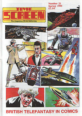 Time Screen #21 - British Telefantasy In Comics Special The Avengers Dr Who