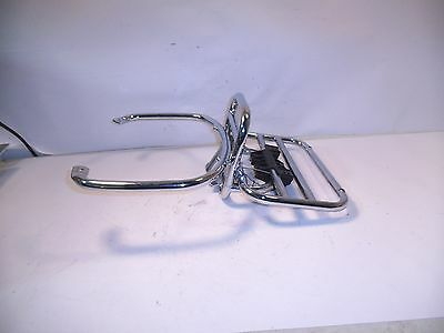 VESPA GTS250IE LS CHROME PLATED REAR CARRIER 602894M GTS250 GTS 250 LS 09 jh
