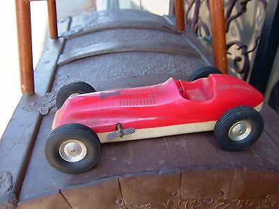 -Offenhauser ROCKETTE PRODUCTS Indy 500 Gran Prix racing car wind up Number 1