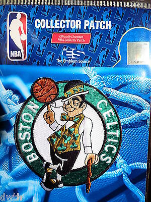 Official Licensed NBA Boston Celtics Primary Logo Iron or Sew On Patch