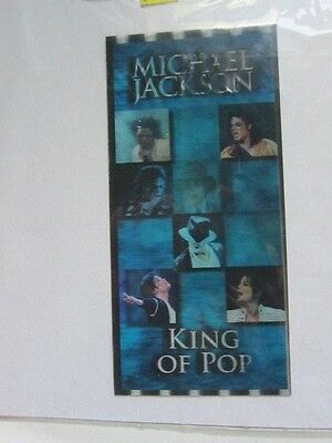MICHAEL JACKSON Concert ticket 2009 b