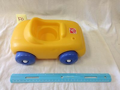 Big Yellow Chunky Car Little People Preschool Toddler HTF
