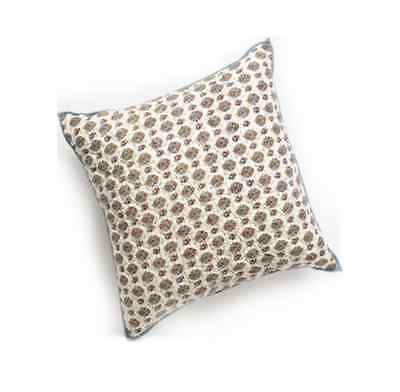 NEW Chaps Home Juliette Calico Quilted  Decorative Square Pillow  18in x 18in