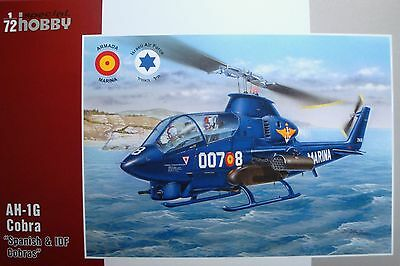 "SPECIAL HOBBY 72274  AH-1G Cobra ""Spanish & IDF Service"" in 1:72"