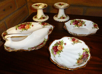 Job Lot 5 Pieces OCR Royal Albert Old Country Roses.
