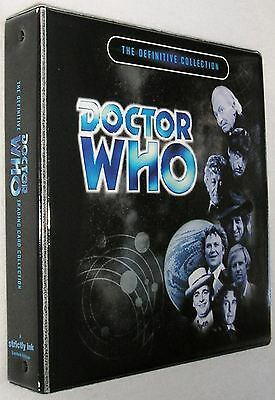 Dr Doctor Who Definitive Trading Card Binder from Strictly Ink - New