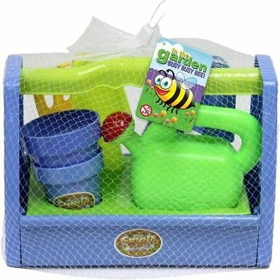 In The Garden Childrens Gardening Tools 9 Piece Play Set And Carry Case