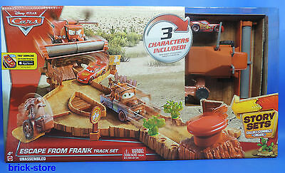 Disney World of Cars /  CDR37 / Escape From Frank Track Set