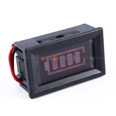 12V ACID Lead Batteries Indicator Battery Capacity LED Tester Digital Voltmeter