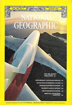 National Géographic(EN) VOL.152 NO.2 August 1977, West Germany, Ice Age,...