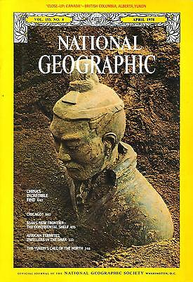 National Géographic(EN) VOL.153 NO.4 April 1978, Chinese Tomb, Chicago,...