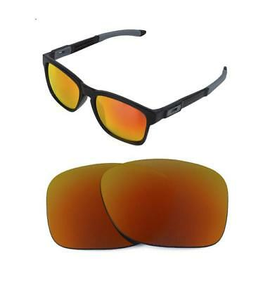 New Polarized Replacement Fire Red Lens For Oakley Catalyst Sunglasses