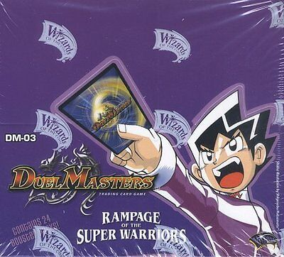 Duel Masters Rampage of the Super Warriors Booster Box
