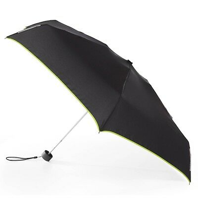 Totes Isotoner TRX Manual Mini Compact Folding Trekker Umbrella - Black / Green