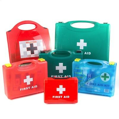 PREMIUM SMALL-LARGE APPROVED FIRST AID KIT Catering Kitchen & Burns Safety Set