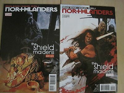 "NORTHLANDERS 18,19 ""The SHIELD MAIDENS"", COMPLETE 2 ISSUE STORY. DC VERTIGO.2009"