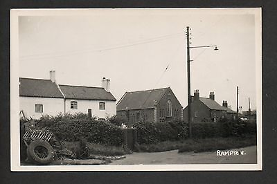 Rampton - real photographic postcard