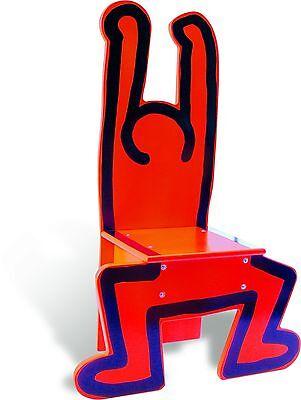 Vilac 48 x 23 x 72 cm Keith Haring Chair (Red)