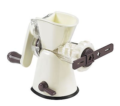 Lurch 10250 Mincer with Pastry Attachment Aubergine and Cream