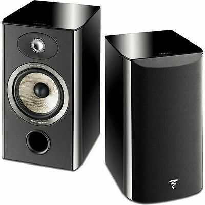 Pair Speakers Focal Aria 906 Aria906 High Glosss Black Brand New ! Warranty-Pair