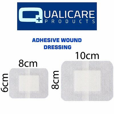ADHESIVE WOUND DRESSINGS Sterile First Aid Cut Graze Small Injury Fabric Plaster