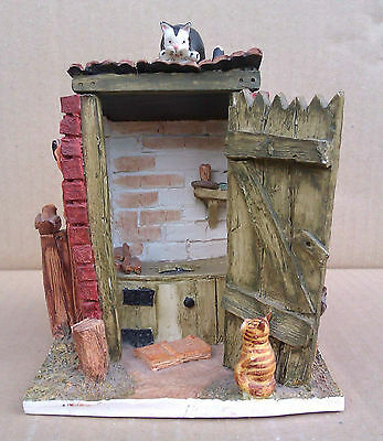 Peter Fagin - Colour Box Cats - The Outside Privy - Hs016