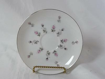 "Harmony House Fine China Rosebud Pattern 3534 Saucer 6"" Japan"