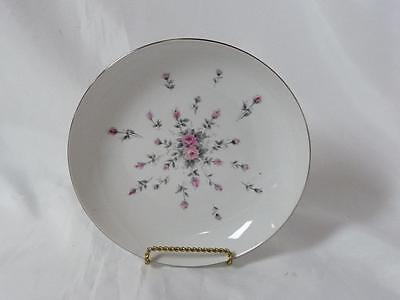 "Harmony House Fine China Rosebud Pattern 3534 Coupe Soup Bowl 7-3/4"" Japan"
