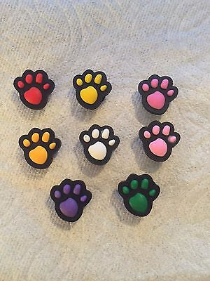 Paw Shoe Charms Fits Crocs Paw Clog Charms Dog Paw Charm Cat Paw Shoe Charms