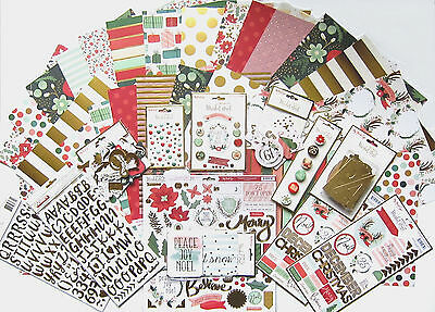 My Mind's Eye[Christmas on Market Street] 12 x 12 Paper & Embellishments 65% Off
