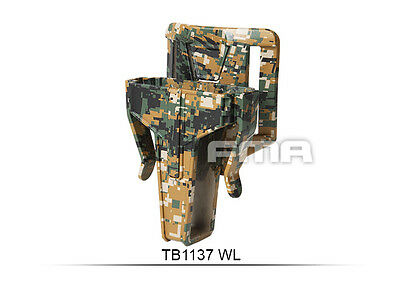 High Quality SetDigital Woodland FSMR Pouch In 7.62 FOR Belt Paintball