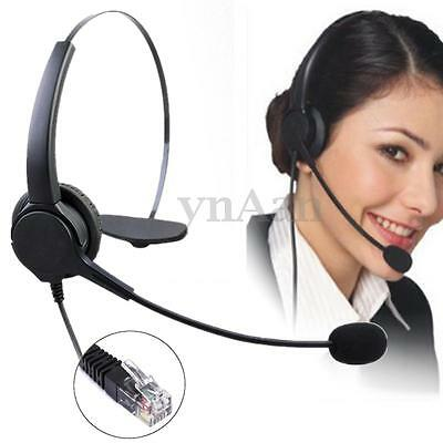 Noise Cancelling Microphone Headset Rj11 Call Centre Office Telephone Headphone