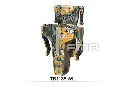 High Quality SetDigital Woodland Pouch In 7.62 FOR Vest/Molle Paintball War Game