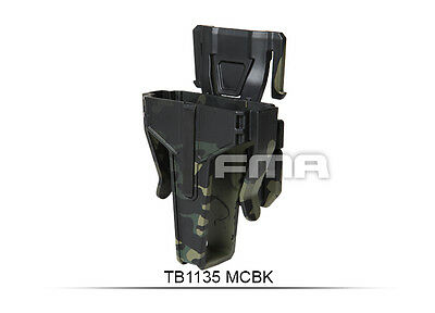 High Quality Multicam Black Pouch In 7.62 FOR Vest/Molle Paintball War Games